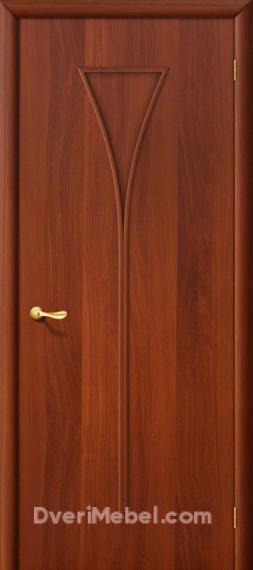 Межкомнатная ламинированная дверь 3Г итальянский орех