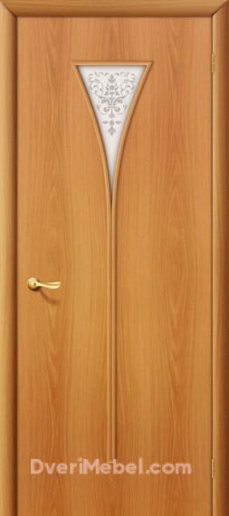 Межкомнатная ламинированная дверь 3Х миланский орех
