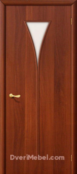 Межкомнатная ламинированная дверь 3С итальянский орех