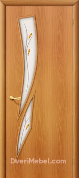 Межкомнатная ламинированная дверь 8Ф миланский орех