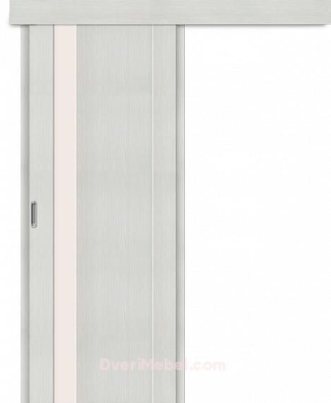 Межкомнатная дверь-купе Порта-11 Bianco Veralinga