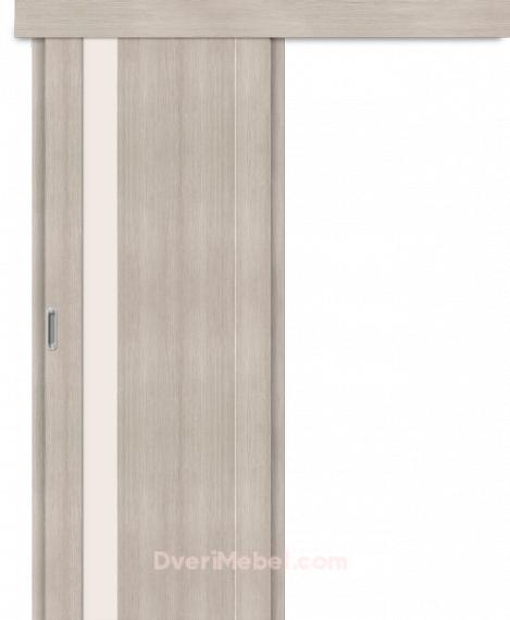 Межкомнатная дверь-купе Порта-11 Cappuccino Veralinga