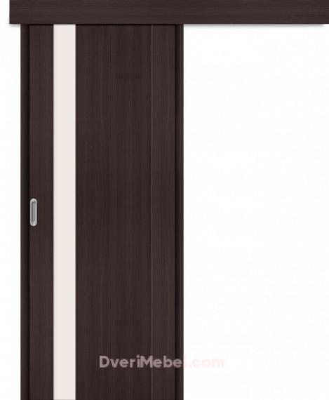 Межкомнатная дверь-купе Порта-11 Wenge Veralinga