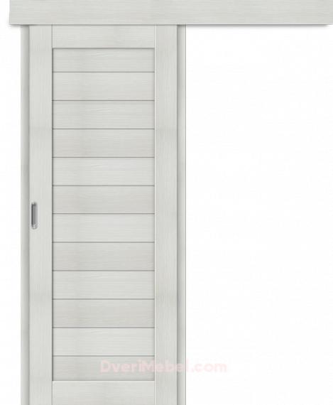 Межкомнатная дверь-купе Порта-21 Bianco Veralinga