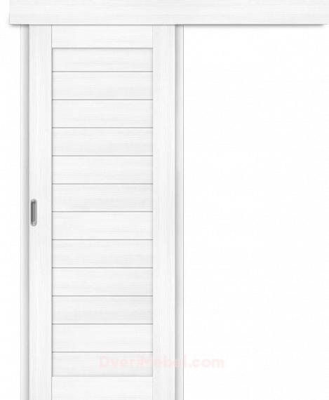 Межкомнатная дверь-купе Порта-21 Snow Veralinga