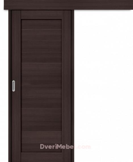 Межкомнатная дверь-купе Порта-21 Wenge Veralinga