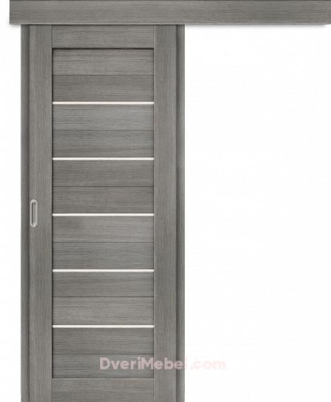 Межкомнатная дверь-купе Порта-22 Grey Veralinga