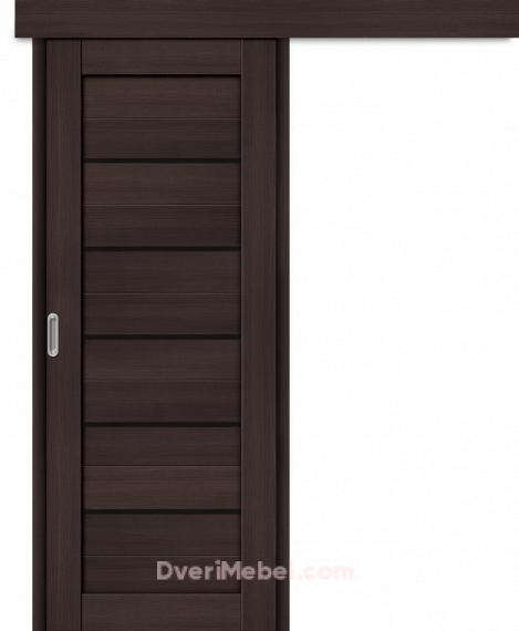 Межкомнатная дверь-купе Порта-22 BS Wenge Veralinga