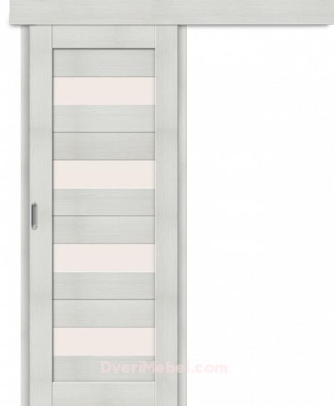 Межкомнатная дверь-купе Порта-23 Bianco Veralinga