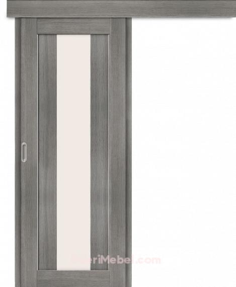 Межкомнатная дверь-купе Порта-25 alu Grey Veralinga