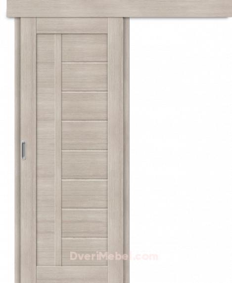Межкомнатная дверь-купе Порта-26 Cappuccino Veralinga