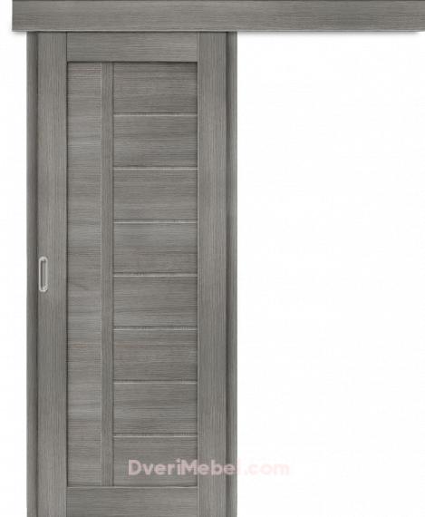 Межкомнатная дверь-купе Порта-26 Grey Veralinga