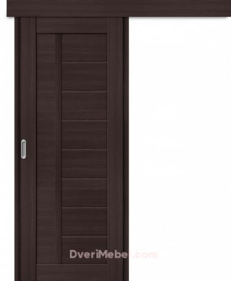 Межкомнатная дверь-купе Порта-26 Wenge Veralinga