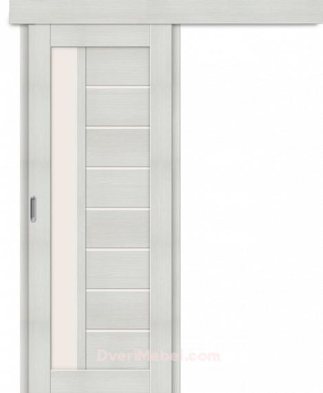 Межкомнатная дверь-купе Порта-27 Bianco Veralinga