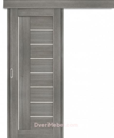 Межкомнатная дверь-купе Порта-29 Grey Veralinga