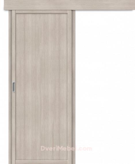 Дверь с Экошпоном Твигги M1 Cappuccino Veralinga