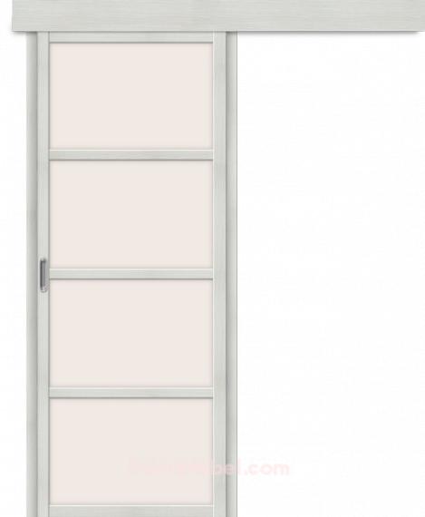 Дверь с Экошпоном Твигги V4 Bianco Veralinga