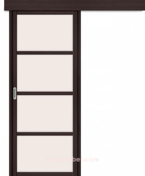 Межкомнатная дверь с Экошпоном Твигги V4 Wenge Veralinga