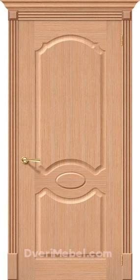Межкомнатная шпонированная глухая дверь Селена Дуб