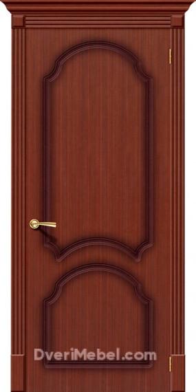 Межкомнатная шпонированная глухая дверь Соната Макоре