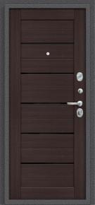 Стальная дверь Porta S 104.П22 Антик Серебро/Wenge Veralinga