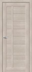 Межкомнатная дверь с экошпоном Порта-26 Cappuccino Veralinga