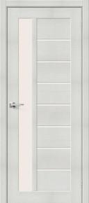 Межкомнатная дверь с экошпоном Порта-27 Bianco Veralinga