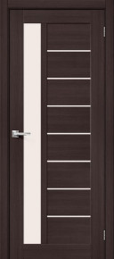 Межкомнатная дверь с экошпоном Порта-27 Wenge Veralinga