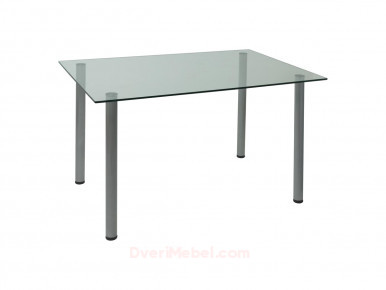 Стол прямоугольный Assen Прозрачный