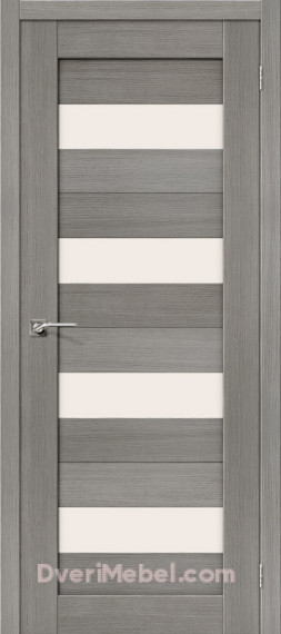 Межкомнатная дверь 3D-graf Порта-23 3D Grey