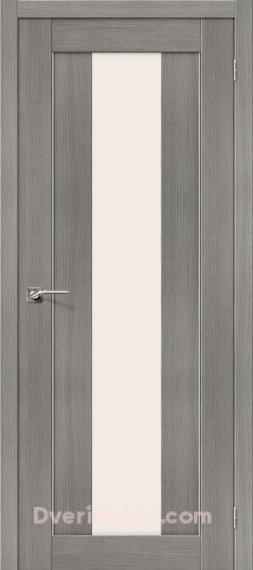 Межкомнатная дверь Финиш Флекс Порта-25 alu 3D Grey