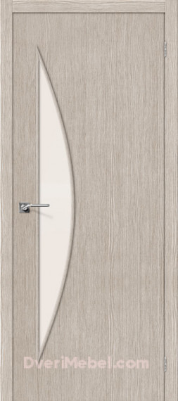 Межкомнатная дверь 3D-graf Мастер-6 3D Cappuccino