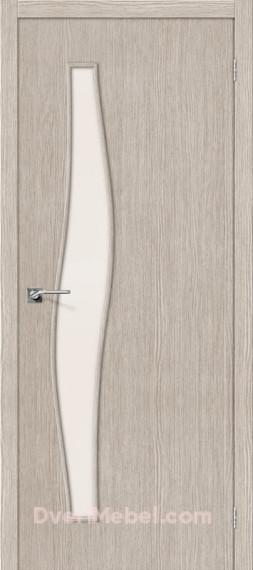 Межкомнатная дверь 3D-graf Мастер-8 3D Cappuccino