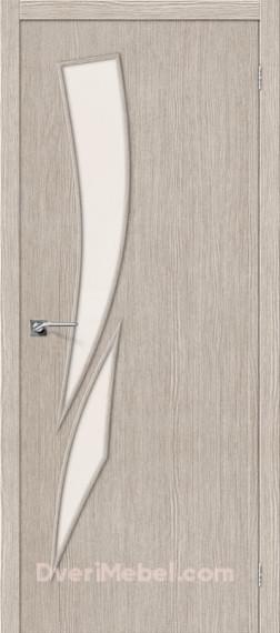 Межкомнатная дверь Финиш Флекс Мастер-10 3D Cappuccino
