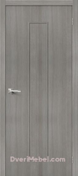Межкомнатная дверь 3D-graf Тренд-13 3D Grey