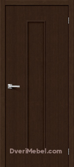 Межкомнатная дверь 3D-graf Тренд-13 3D Wenge