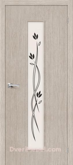 Межкомнатная дверь 3D-graf Тренд-14 3D Cappuccino