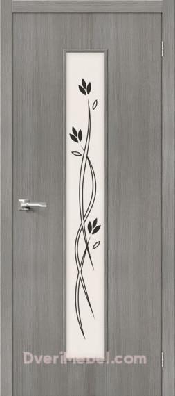 Межкомнатная дверь 3D-graf Тренд-14 3D Grey