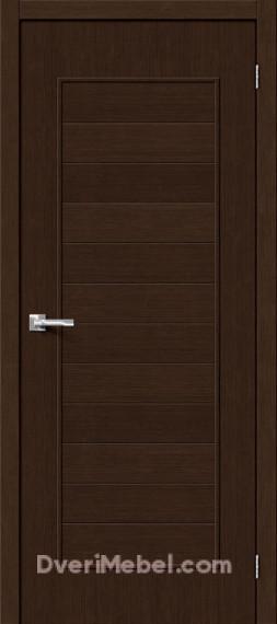 Межкомнатная дверь Финиш Флекс Тренд-21 3D Wenge