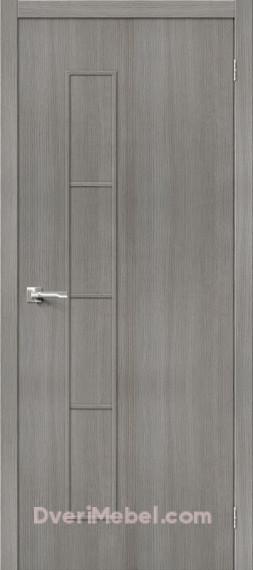 Межкомнатная дверь 3D-graf Тренд-3 3D Grey