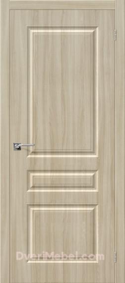 Межкомнатная дверь с пленкой ПВХ Статус-14 Шимо светлый