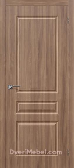 Межкомнатная дверь с пленкой ПВХ Статус-14 Шимо темный