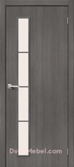 Межкомнатная дверь Тренд-4 Grey Veralinga