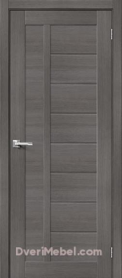 Межкомнатная дверь с экошпоном Порта-26 Grey Veralinga