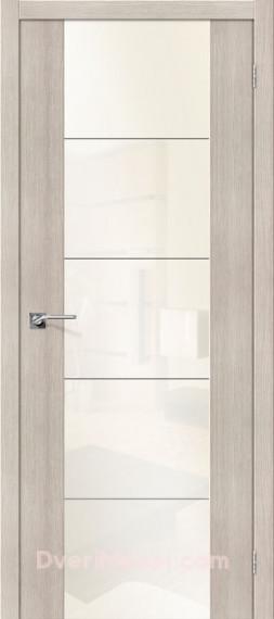 Межкомнатная  дверь с Экошпоном  V4 WP Cappuccino Veralinga