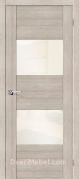 Межкомнатная  дверь с Экошпоном VG2 WP Cappuccino Veralinga