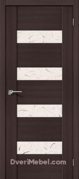 Межкомнатная  дверь с Экошпоном VM4 SA Wenge Veralinga