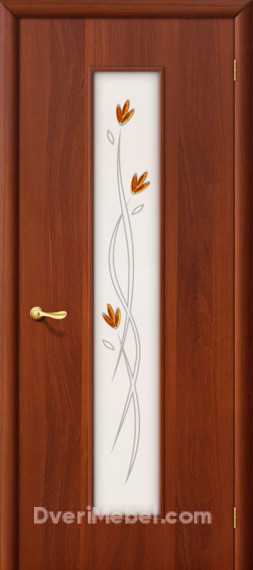 Межкомнатная ламинированная дверь 22Х итальянский орех