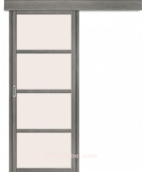 Дверь с Экошпоном Твигги V4 Grey Veralinga